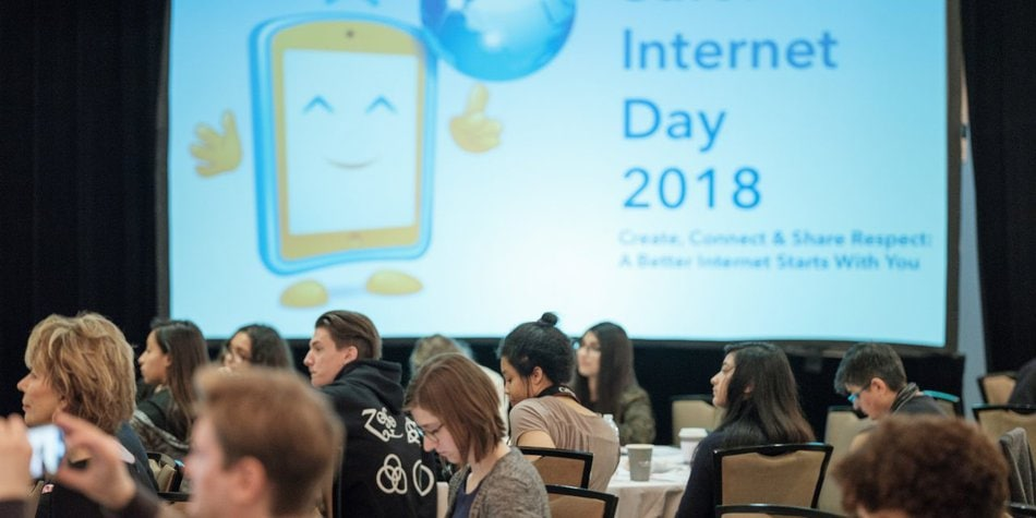 US Safer Internet Day 2018: Passionate Speakers & Students are a Recipe for Success